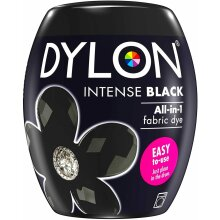 Dylon Washing Machine Fabric Dye Pod For Clothes Soft Furnishings Intense Black