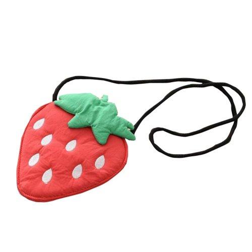 Little Girls Crossbody Bag Shoulder Bag Children Mini Handbag [Strawberry]