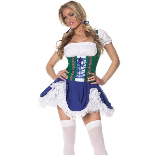 Gretchen Beer Maid Oktoberfest German Wench Volksfest Bavarian Women Costume