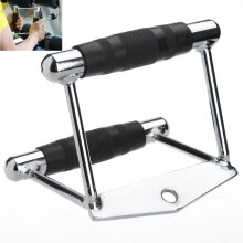 Gym Training Cable Attachment Seated Row V Handle Close Grip Lat Bar