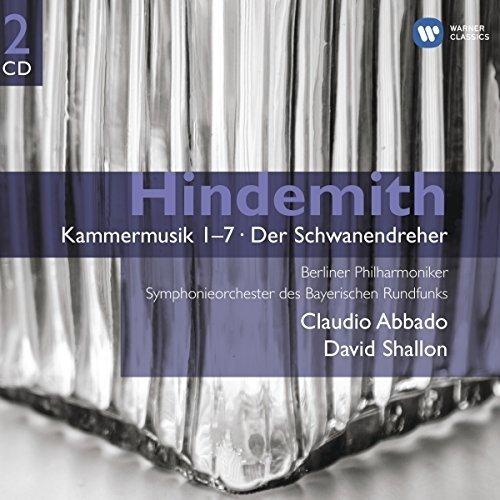 Claudio Abbado - Hindemith: Kammermusik 1-7 / Der Schwanendreher [CD]