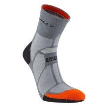 Hilly : Marathon Fresh Anklet Granite/Orange   L
