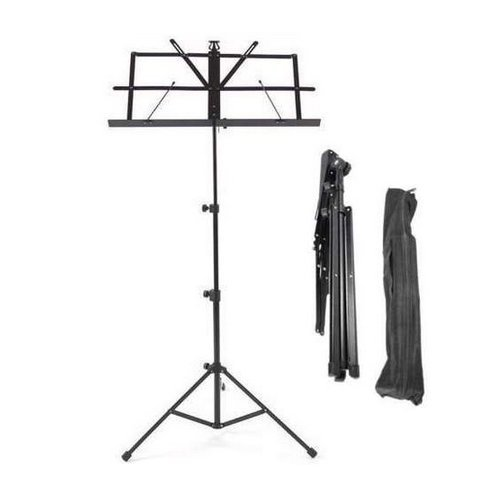 Kabalo Metal Adjustable Sheet Music Stand Holder Folding and Foldable WITH FREE CARRY CASE BAG INCLUDED