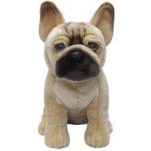 "French Bulldog tan 12"" hand made quality toy dog"