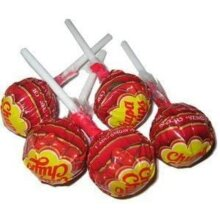 Cherry x 50 Chupa Chups Lollypops, Ideal Party Bag Filler