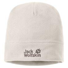 Jack Wolfskin Real Stuff Womens Adult Winter Outdoor Fleece Beanie Hat Birch