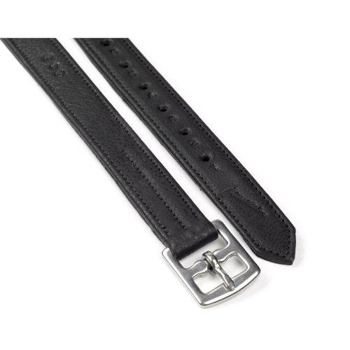 (125cm, Black) Whitaker Stirrup Leathers