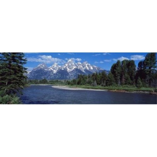 Snake River & Grand Teton WY USA Poster Print by  - 36 x 12