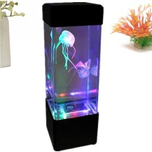 Jellyfish Tank Mood Light Relaxing Colour Changing LED Desk Lamp