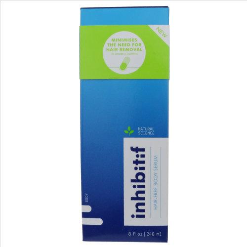 Inhibitif Hair-Free Body Serum 8oz/240ml New In Box