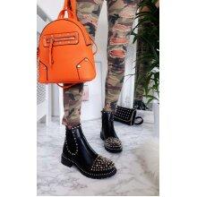 IKRUSH Womens Sasha Studded Ankle Boots