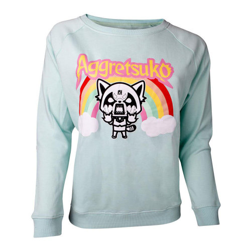 Aggretso Retso Rage Rainbow Sweater Female Green SW631087AGG-M SW631087AGG-M