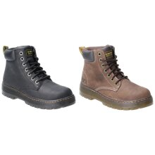 Dr Martens Mens Winch Lace Up Leather Safety Boot