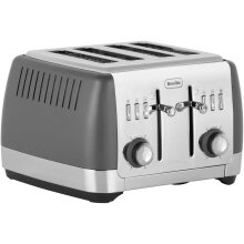 Breville Strata 4 Slice VTT764 4 Slice Toaster - Grey