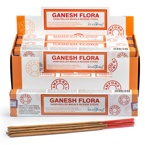 Stamford Masala Incense Sticks - Ganesh Flora - Set of 12