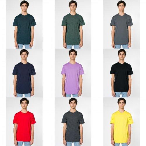 American Apparel Unisex Short Sleeve Crew Neck T-Shirt