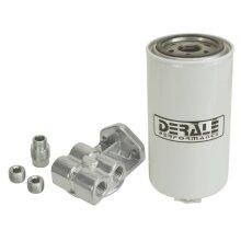 Derale 13070 Side Ports Water & Fuel Separator Kit