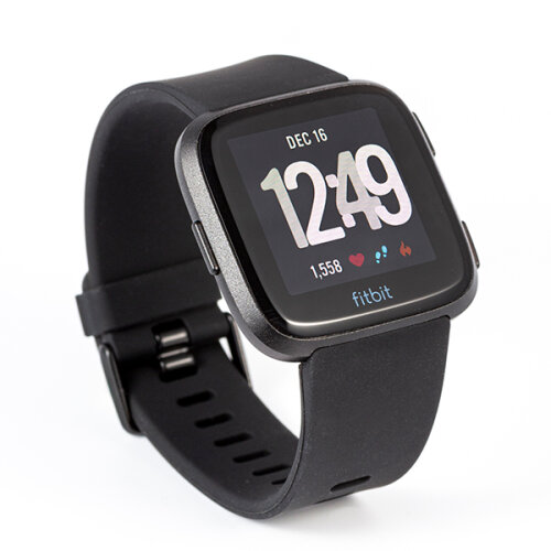 Fitbit Versa Lite Health Fitness Smartwatch black