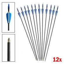 Fibreglass Archery Arrows, Field Hunting & Target Broadhead screw tip