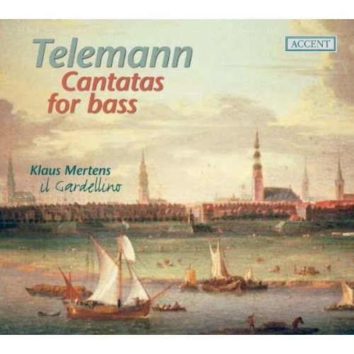 TELEMANN - CANTATAS FOR BASS: MERTENS [CD]