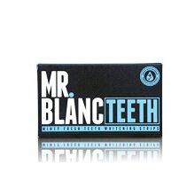 Mr Blanc Teeth Non Peroxide Teeth Whitening Gel Strips - 2 Week Supply - Professional Teeth Whitening - Enamel Safe
