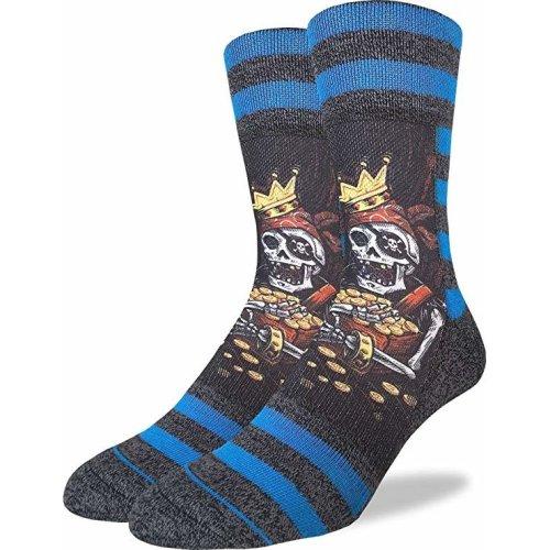 Socks - Good Luck Sock - Men's Active Fit - Buried Treasure (8-13) 4080
