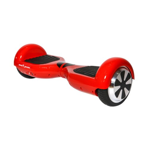 Hoverboard Smart Balance™ Premium Brand, Regular Red, 6.5 inch, Bluetooth, Built-in speakers, AutoBalans, 350W
