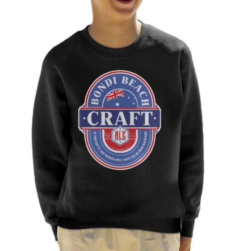 Bondi Beach Craft Ale Kid's Sweatshirt