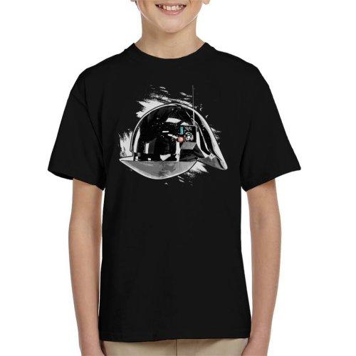 Original Stormtrooper Imperial Gunner Helmet Kid's T-Shirt
