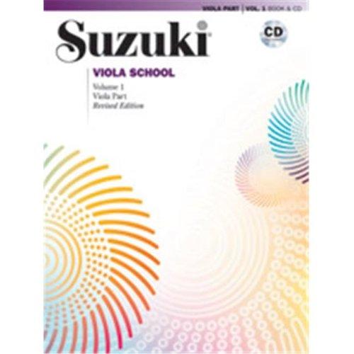 Alfred 00-40685 SUZUKI VIOLA SCHOOL 1-BK&CD