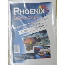 50 Sheets Phoenix A4 210gsm Double Sided Photo Matt/ Matte Card