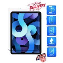 Ultra Clear 9H Hard Anti Shatter Anti Fingerprint Scratch Resistant HD Tempered Glass Screen Protector for Apple iPad Air 4 (4th Generation) (2020)
