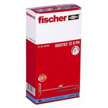 Fischer 542797 DUOTEC 12 S. 12mm Nylon Toggle + Panhead M6x70mm Screw