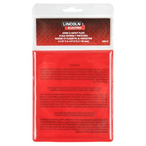 Warren Distribution 209996 4.5 x 5.5 in. Protective Replacement Lens, Clear