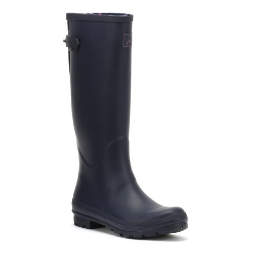 Joules Womens French Navy Field Welly Wellington Boots