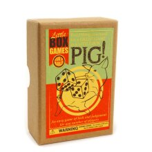 House of Marbles Little Box Game - Pig! Vintage Toys - Kids and Adults