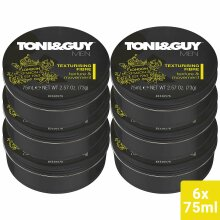 Toni&Guy Men Styling Texture and Bounce Fibre 75ml - 6 Pack