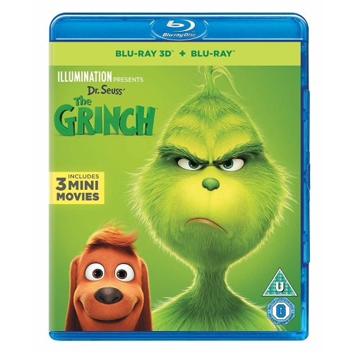 The Grinch 3D + 2D Blu-Ray [2019]