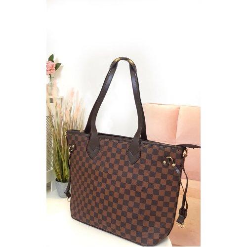 IKRUSH Womens Demi Check Shoulder Bag