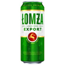 Lomza Export Lager 5.7% 24 x 500ml Cans