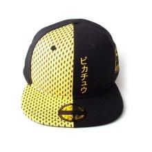 Block Pikachu Snapback Baseball Cap