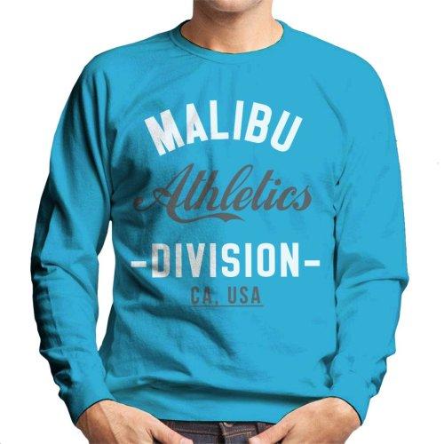 (Large, Sapphire) Malibu Athletics Division Men's Sweatshirt