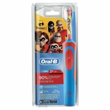 Oral-B Vitality Kids Rechargeable Electric Toothbrush - Incredibles 2