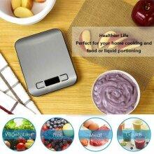 Digital Kitchen Scales, Premium Stainless Steel Food Scales