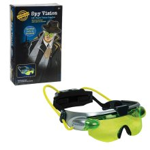 Funtime Gifts EG7975 Spy Night Vision Googles with High Power LED Lights, Fluorescent Green/Grey/Black