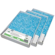3 PetSafe ScoopFree Replacement Crystal Litter Tray Refill Blue Crystal No Smell