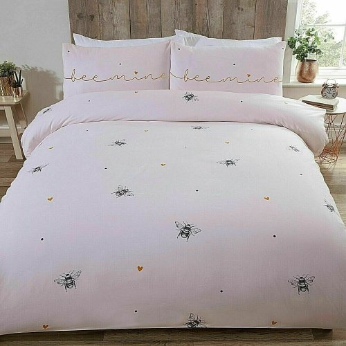 Bee Mine Bumblebee Duvet/Quilt Cover With Pillow Cases