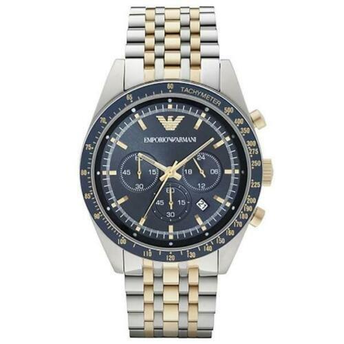 Emporio Armani Tazio Chronograph Tachymeter Dial Men's Watch AR6088