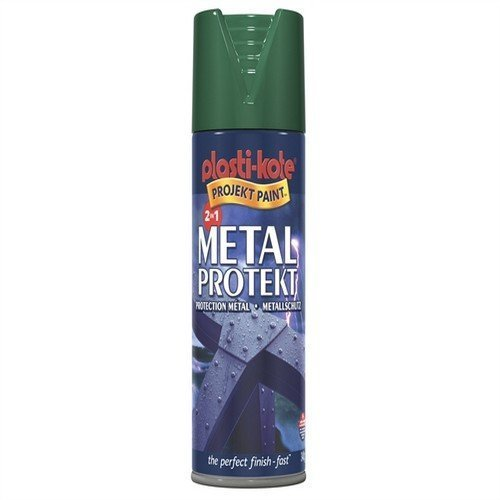 Plasti-kote 1282 400ml Metal Protekt Gloss - Black