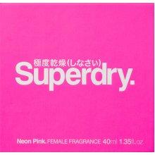 Superdry Neon Pink Eau de Cologne 25ml EDC Spray
